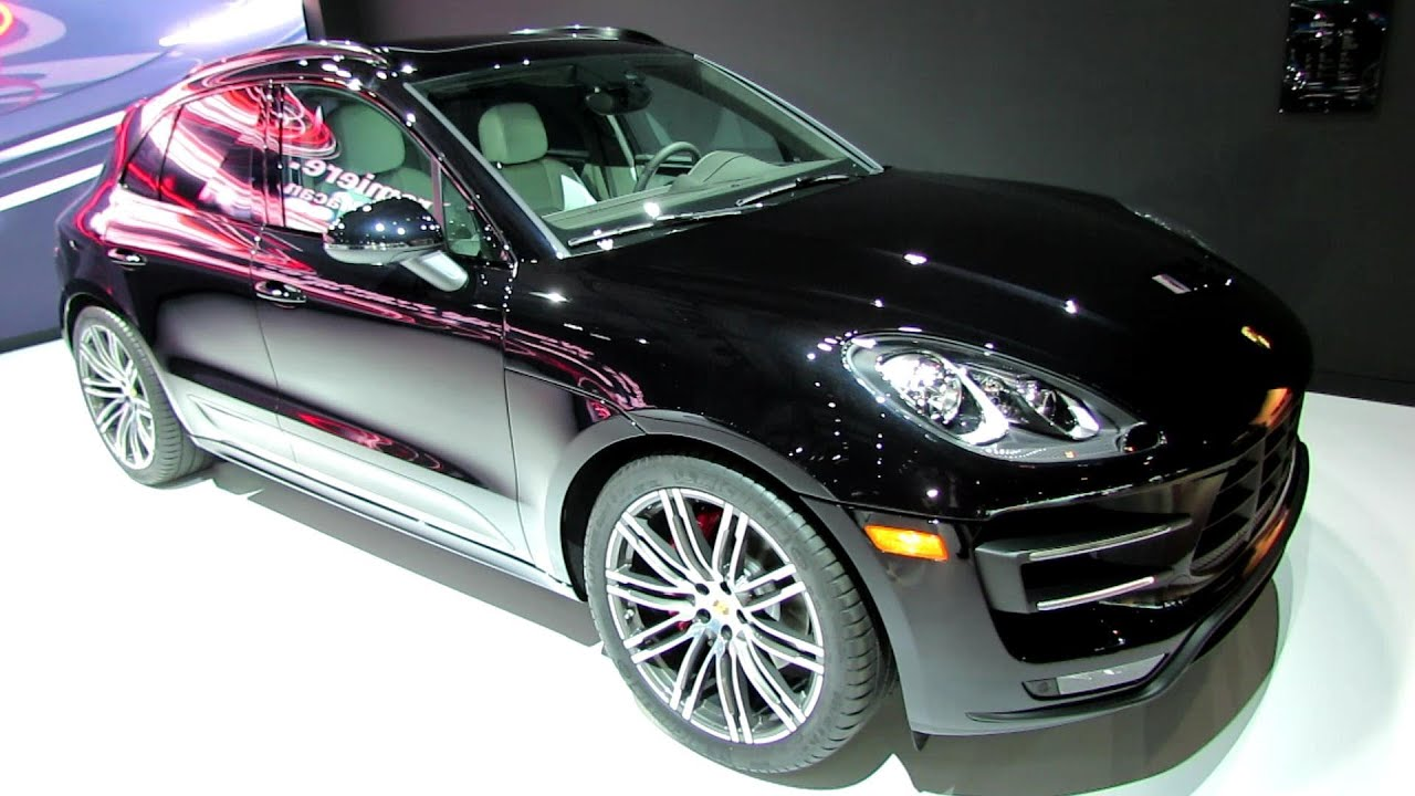 2015 porsche macan turbo - exterior and interior walkaround