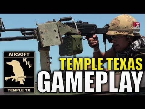 AWESOME Temple Texas Airsoft Gameplay - Player Appreciation Day