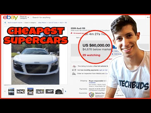 How To Find The Cheapest Super Car Deal In The Country | Flipping 101