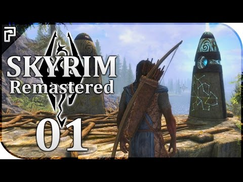 THE LEGENDARY REDGUARD! | Skyrim Special Edition (Remastered) Let's Play [Episode 1]