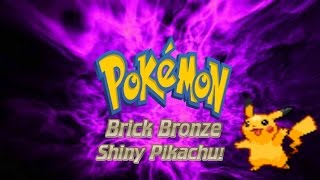 Roblox Pokemon Brick Bronze Extras - Shiny Pikachu!
