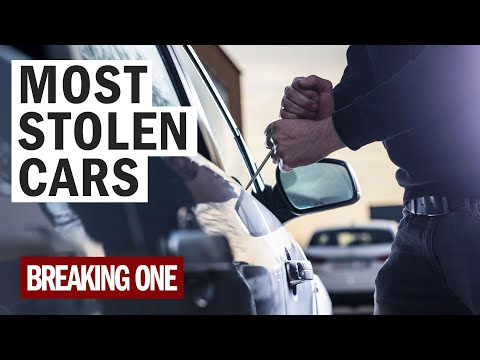 Thieves LOVE These Cars #MostStolenCars