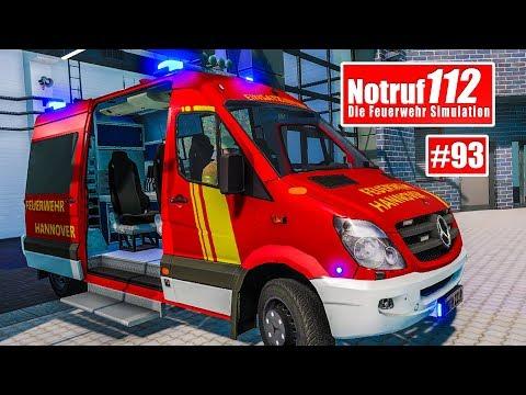 NOTRUF 112 Platinum #93: SUPERMARKT in Flammen I Feuerwehr-Simulation