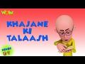 Khajane Ki Talash - Motu Patlu in Hindi - 3D Animation Cartoon for Kids HD -As seen on  Nickelodeon