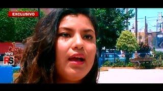 Repeat youtube video Mujer agredida en Metro de Lima se defiende y cuenta su verdad