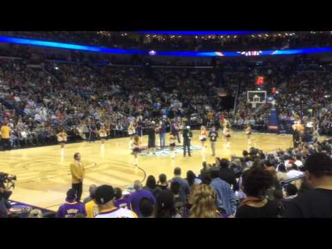 Will Ferrell Hijacks Halftime Show at Pelicans-Lakers Game!