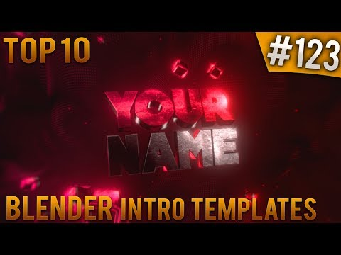 TOP 10 Blender Intro Templates #123 (Free Download)