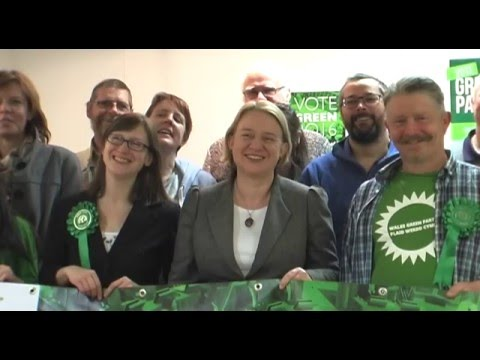 Wales Green Party Campaign Launch 2016