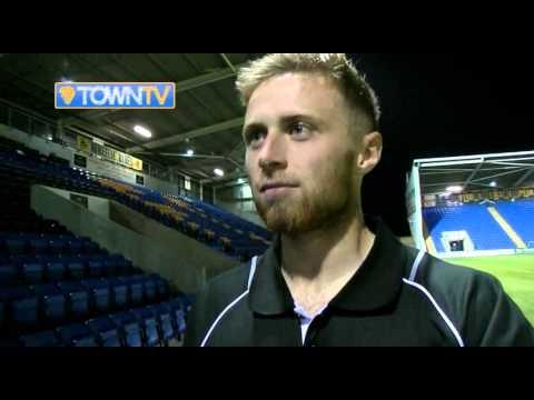 Jordan Clark post Blackpool - Town TV