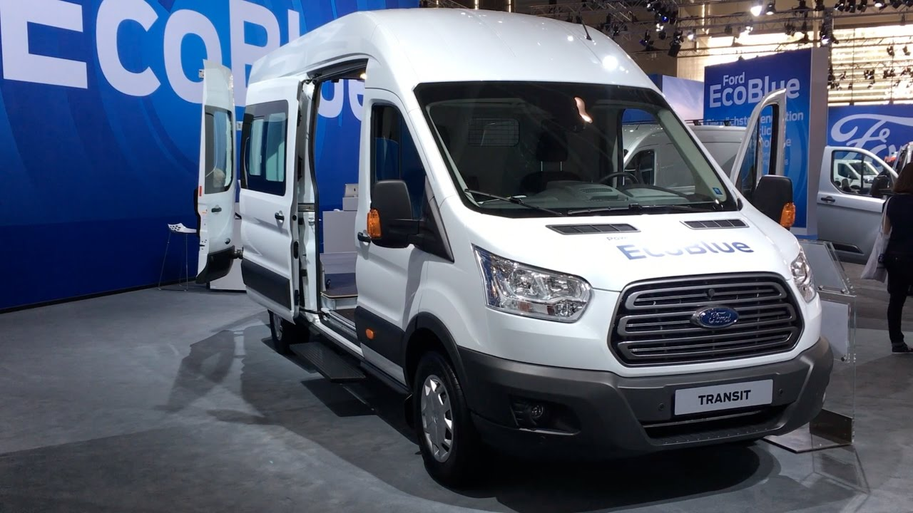 Ford Transit 2017 In Detail Review Walkaround Interior Exterior