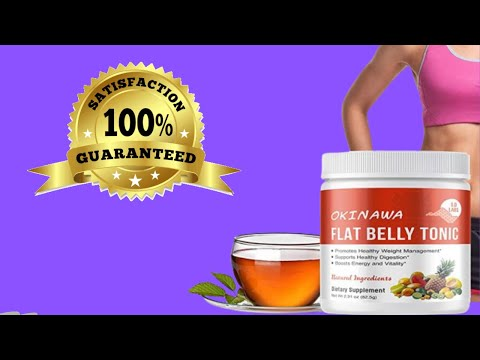 OKINAWA Flat Belly Tonic Review -  🍵See This Before You Buy