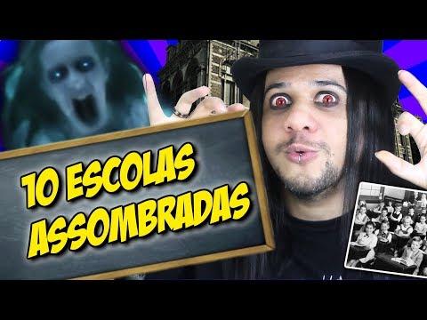 10 ESCOLAS ASSOMBRADAS NO MUNDO
