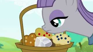 Maud Pie (sniffing and eating a rock) thumbnail