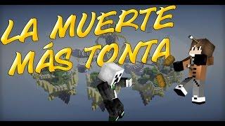 LA MUERTE MAS TONTA DEL SIGLO!!! || SkyWars Minijuego Cubecraft || SHANKSGMR
