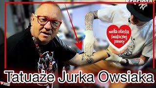 Jurek Owsiak  - Jego tatuaże - WOŚP 27
