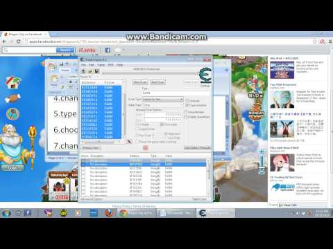 how  to hack farm and habitat in dragon city using cheat engine 6.2