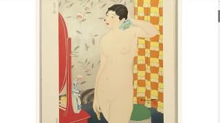 10 Types of Female Nudes - by Ishikawa Toraji - artelino