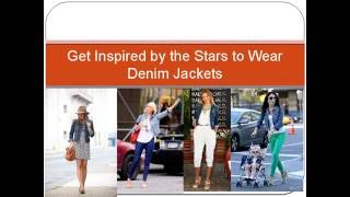 Get Inspired by the Stars to Wear Denim Jackets