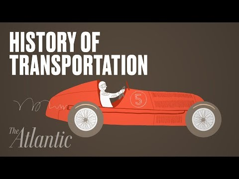 An Animated History of Transportation