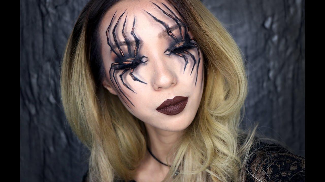 Spider Eyes Halloween Makeup Tutorial 2016 Youtube - Halloween-makeup