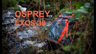 Osprey Exos 38 rygsæk