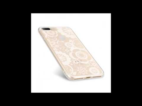 Melkco Nation Series Check Card Pattern TPU Case for Apple iPhone 7 Plus - (Transprent)