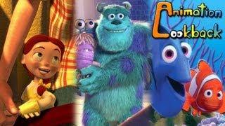 The History of Pixar Animation Studios 2/6 - Animation Lookback