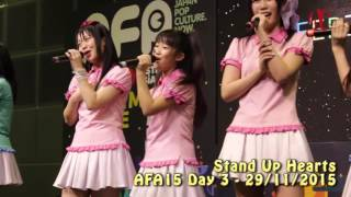 Stand-Up! Hearts AFA15 Day 3 performance Digest Stand-Up! Hearts シ...