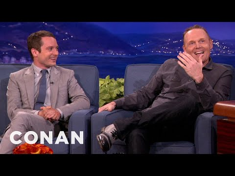 Bill Burr Teaches Elijah Wood How To Kill