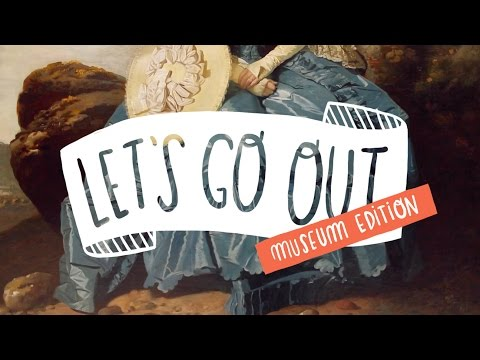Let's Go Out! National Gallery date + mini Haul!  ~ Frannerd