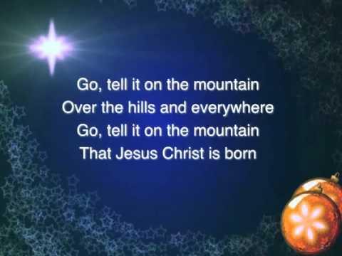 Go Tell It On The Mountain ~ Dolly Parton ~ Lyric Video