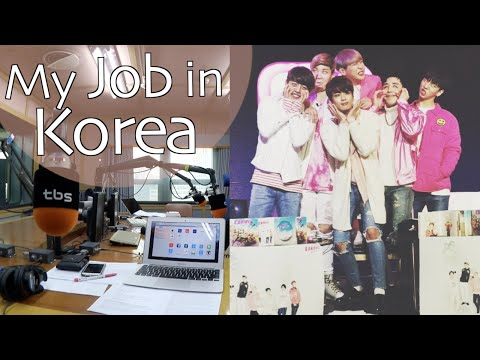 Follow Me to Work in Seoul | Live Radio + Meeting K-Pop Idols