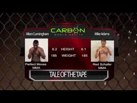 Chosen Few Fighting Championships Alton Cunningham vs Mike Adams