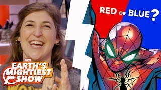 Spider-Man: Red or Blue Controversy and more on Earth's Mightiest Show