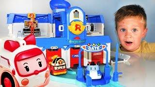 ★ РОБОКАР ПОЛИ Штаб Квартира Robocar Poli Робокар Поли на Русском Robocar Poli Toys Новые Игрушки