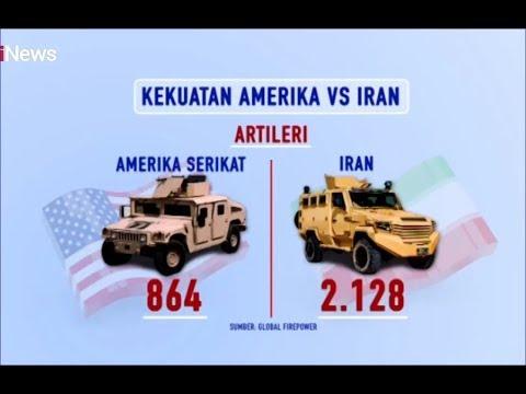 Melihat Lebih Jauh Kekuatan Amerika Vs Iran - INews Prime 10/01
