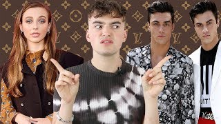 Should Youtubers Go To Fashion Shows? (ft. Emma Chamberlain & The Dolan Twins)