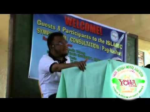 YAKAN NASIHAT:SEMINAR IN ABC HALL at LAMITAN CITY,BASILAN