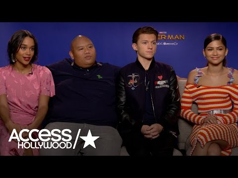 'Spider-Man: Homecoming': Tom Holland & Zendaya On The Anticipated Reboot | Access Hollywood