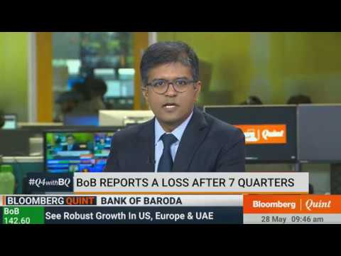Shri P. S. Jayakumar, CEO & MD, Bank of Baroda with Bloomberg Quint Indian Open