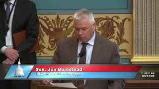 Sen. Bumstead explains no vote on Senate Bill 151