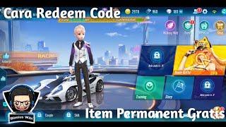 Cara Redeem Code Garena Speed Drifters || Dapet item & Mobil Gratisan 🤤