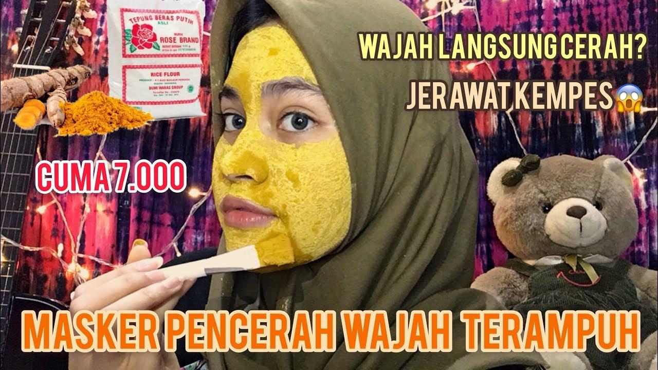 Masker Untuk Mencerahkan Wajah Ampuh Masker Kunyit Jihan Salsabila Youtube