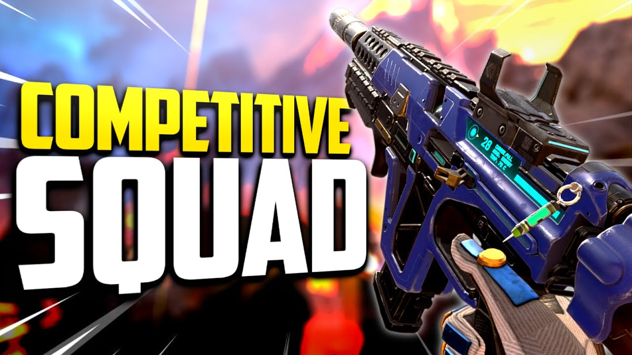 DOMINATING RANKED WITH MY COMPETITIVE SQUAD!   sYnceDez