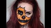 Halloween Pumpkin Makeup Tutorial - YouTube