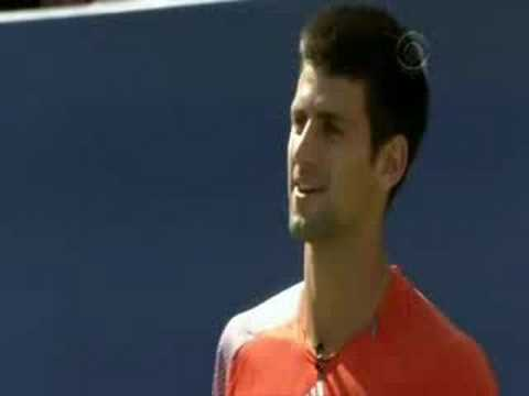 Andy and Djokovic - Kids day