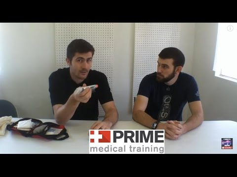 Survival Medicine for prepping discussion with Prime Medical Training