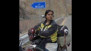 Zeenat Irfan-One of the strongest women daring to ride around Pakistan on motorbike