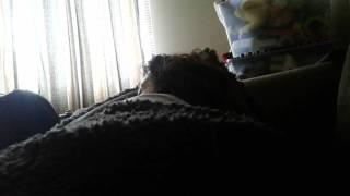 My. Sleeping mom