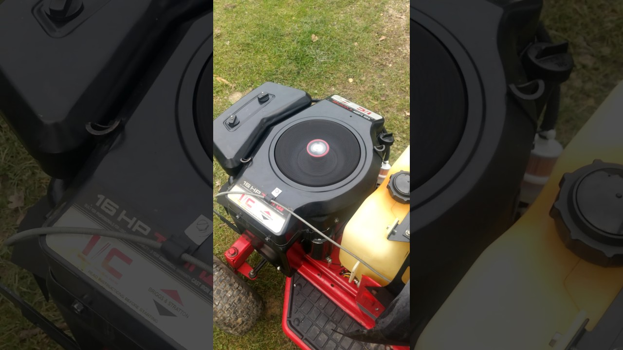 Briggs & Stratton 16PS Opposed Twin Engine 16HP after Maintenance ...